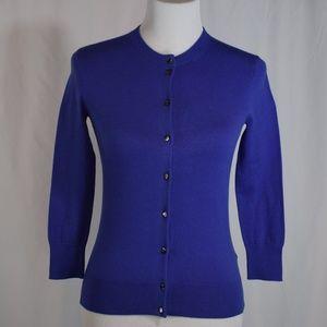 J. CREW Jackie Cardigan Sweater XS